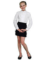 """Блузка дитяча для дівчаток М-1052 ріст 116 122 128 134 140 146 152 158 тм """"Попелюшка"""""""