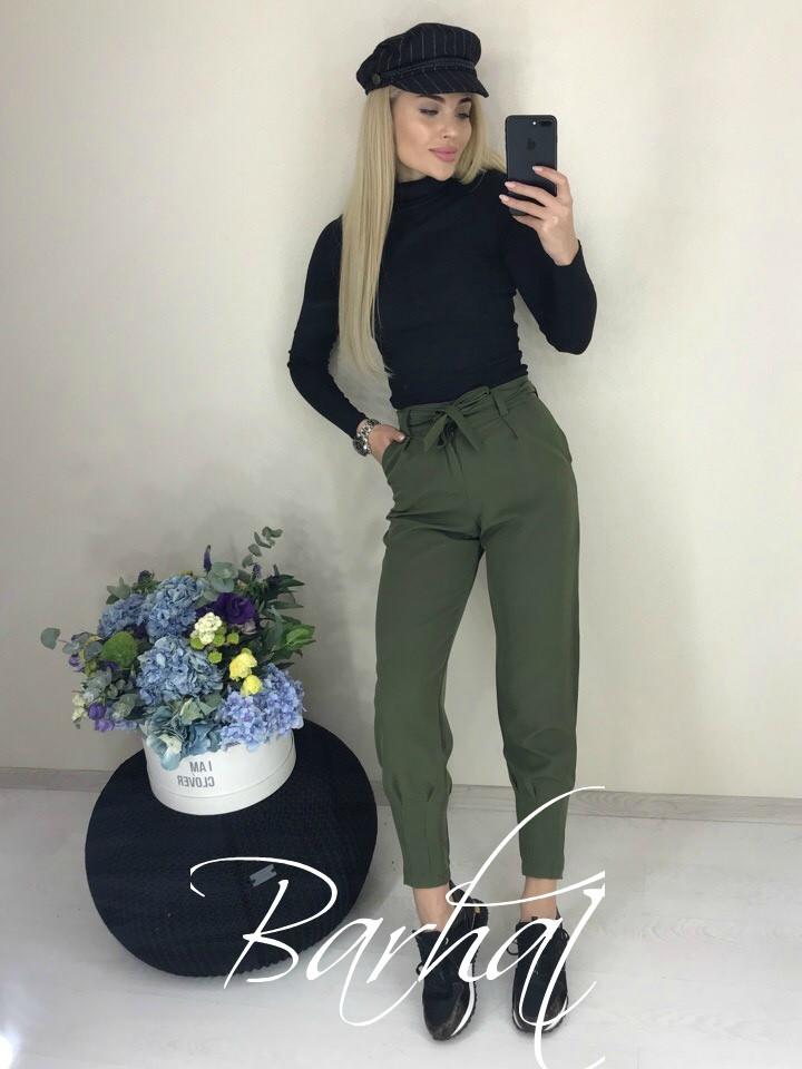 Женские стильные брюки  БХ293