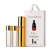 Christian Dior Fahrenheit EDP 3x15ml MINI (парфюмированная вода Кристиан Диор Фаренгейт мини-флакон)