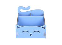 Органайзер для косметики My Cat Голубой, фото 1