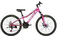 Велосипед спортивный Impuls 24 HOLLY-NEW, малиновый
