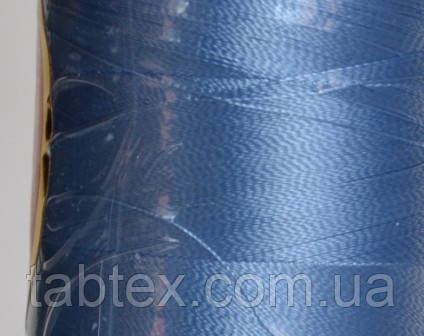 Нитка шовк для машинної вишивки embroidery 120den. №D-280 св. блакитна 3000 ярд