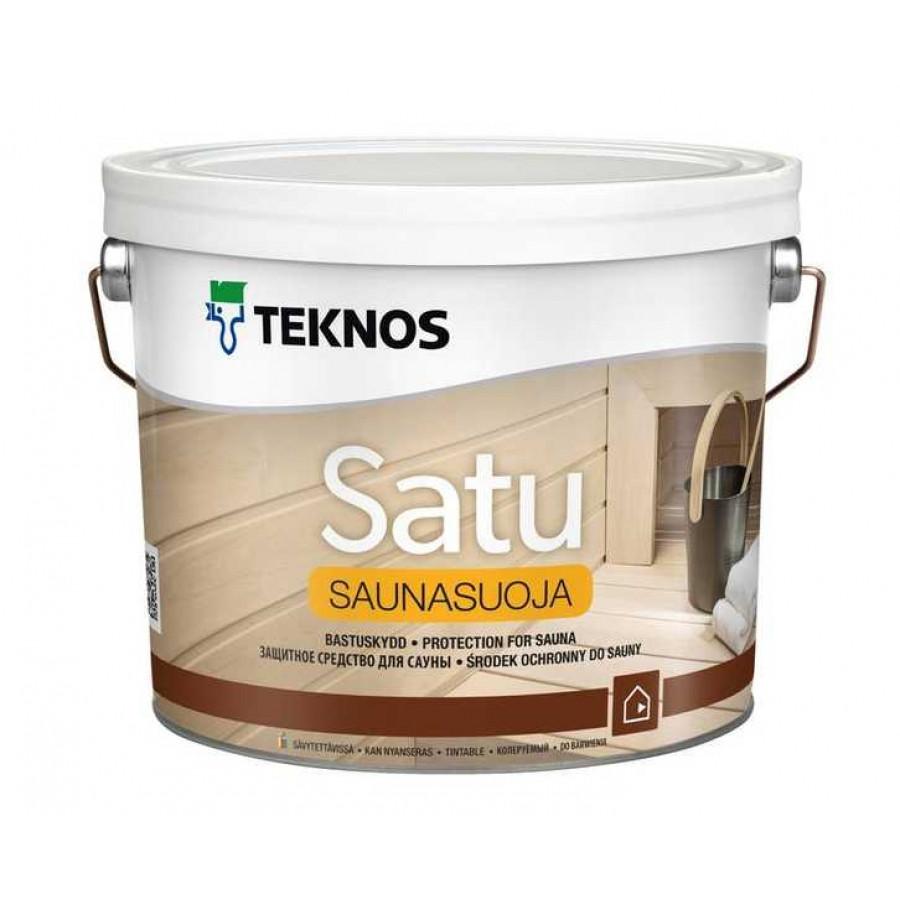 Захисний засіб для сауни Teknos Satu Saunasuoja 2.7 л