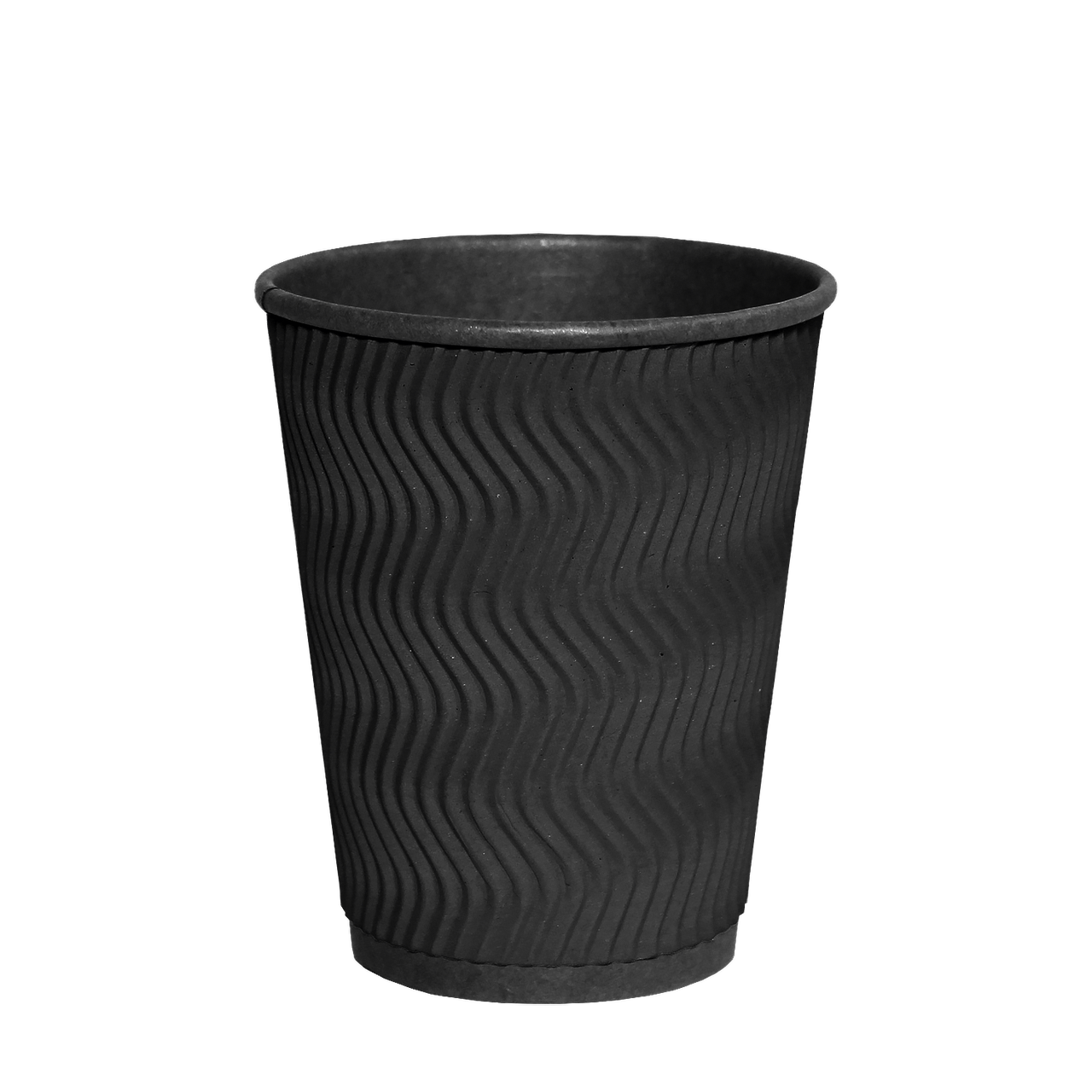 "Гофростакан ""Double Black"" 350мл. Євро 30шт/рук; 20рук/ящ; 600шт/ящ, (КВ90/""РОМБ"" 90)"