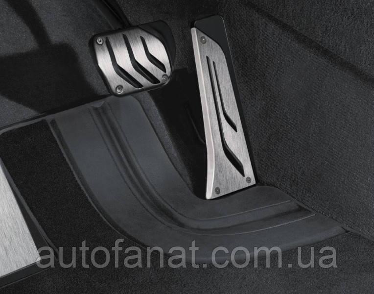 Оригинальные накладки на педали BMW 7 (F01) M Performance с АКПП (35002232278)