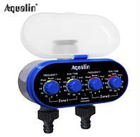 Двухконтурный автоматический таймер полива Aqualin