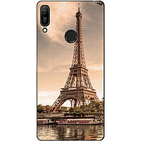 Силиконовый чехол для Huawei Y6 Prime 2019 с рисунком Париж