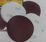 Наждачный круг р240 липучка диаметр 125 мм