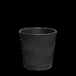 "Гофростакан ""Double Black"" 180мл. 30шт/рук; 35рук/ящ; 1050шт/ящ, (КР72)"