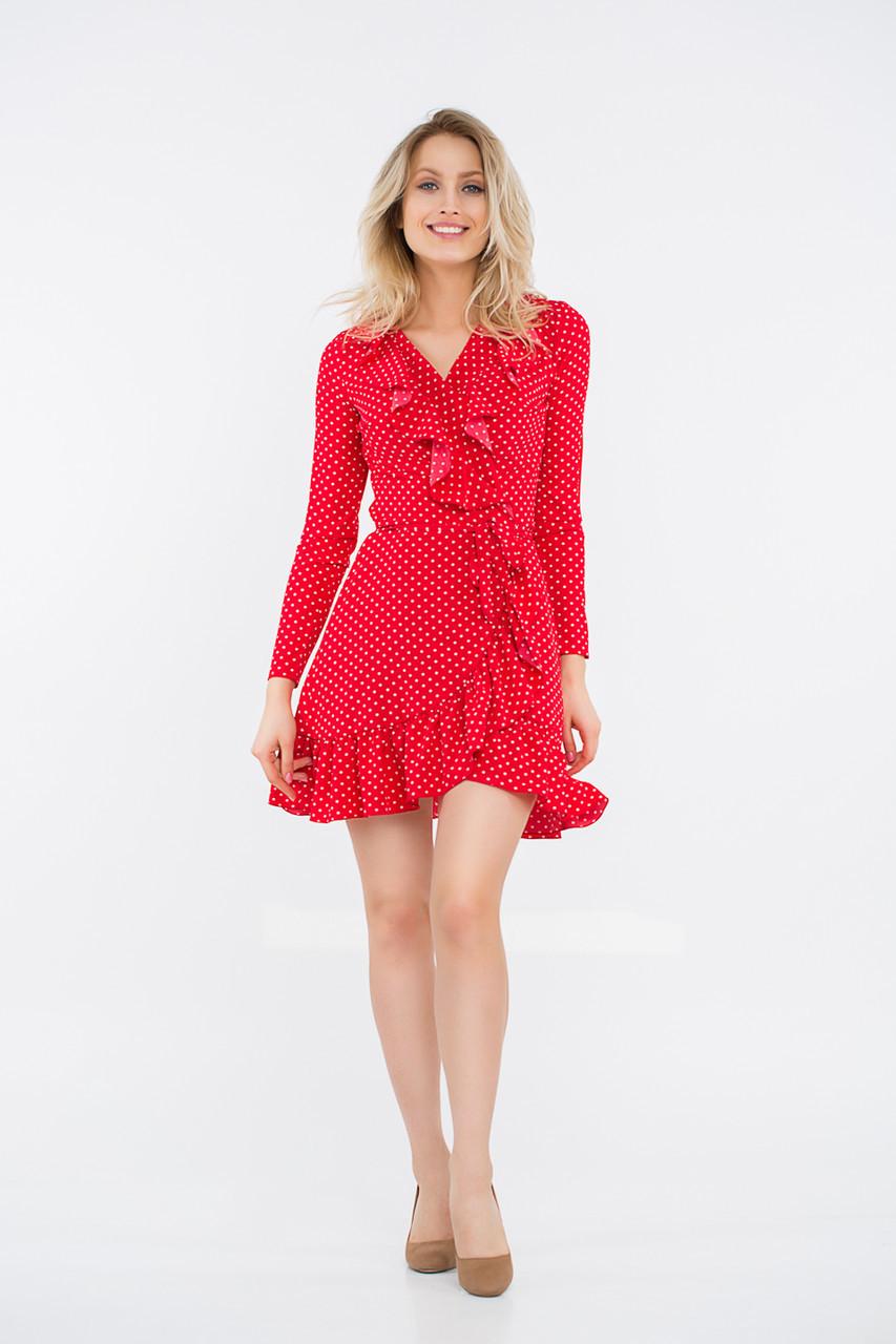 Платье LiLove 48-335 46-48 красный