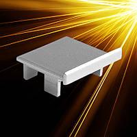 Заглушка для LED профиля металлическая LOKOM