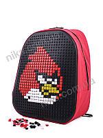 Рюкзак детский школьный мозаика Angry Birds David Polo, фото 1