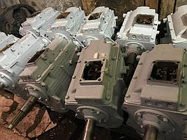 Коробка переключения передач (КПП) ЗиЛ-130,ЗиЛ-131.(без тормозного барабана)
