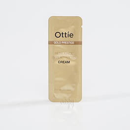 Пробник увлажняющий крем для упругости кожи Ottie Gold Prestige Resilience Advanced Cream, 2 мл