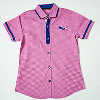 Рубашка-шведка  для мальчика рост 110 см, фото 1