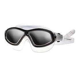 Очки для плавания взрослые Spokey Murena Черные s0287, КОД: 213034