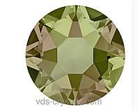 Стразы Swarovski клеевые холодной фиксации 2088 Crystal Luminous Green F 12ss (упаковка 1440 шт)