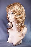Парик пышный №3,цвет мелирование светло-русый,рыжий и блонд