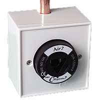 Розетка газовая, в корпусе, медицинский воздух 7 - DIN - прикручувающаяся