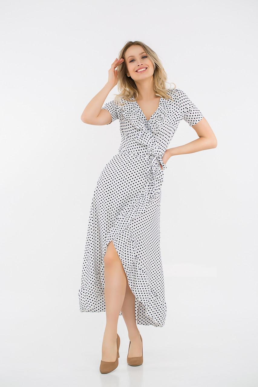 Платье LiLove 48-358 42-44 белый