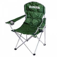 Крісло доладне туристичне Ranger SL 630 (92х60х46см), зелене