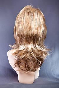 Парик пышный №3,цвет мелирование светло-русый рыжий и блонд