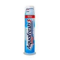 Зубная паста Aquafresh Тройная защита (помпа), 100 мл