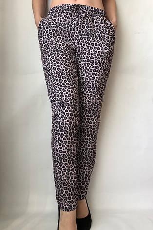 Леопардовые летние брюки N° 17 Л1, фото 2