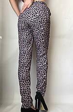 Леопардовые летние брюки N° 17 Л1, фото 3