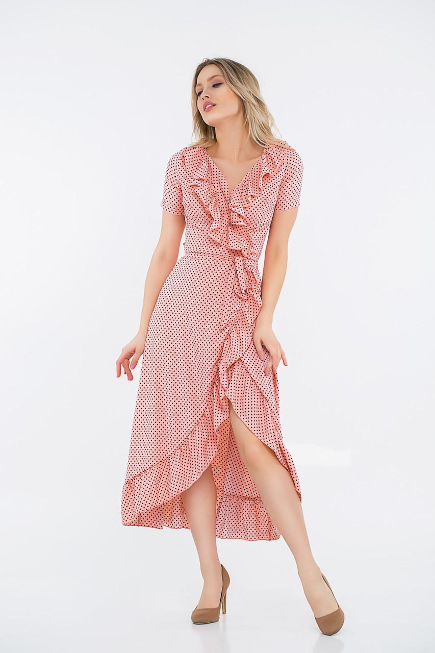 Платье LiLove 48-358 46-48 розовый