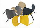 Пластиковий стілець модерн Mark темно-сірий 21 від Onder Mebli, фото 5