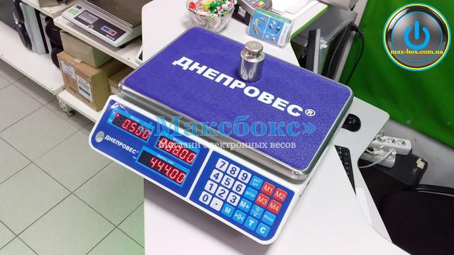 Весы торговые до 6 кг ВТД-ЕЛ1 Днепровес