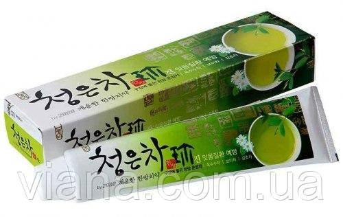 Паста зубная для укрепления десен на основе лечебных трав и восточного чая Dental Clinic 2080 Cheong-en-cha
