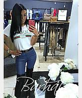 Женская модная футболка  БХ240, фото 1