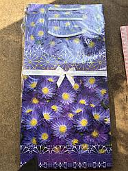 Подарочный бумажный пакет ЧАШКА ''Лесные'' (16*16*8)