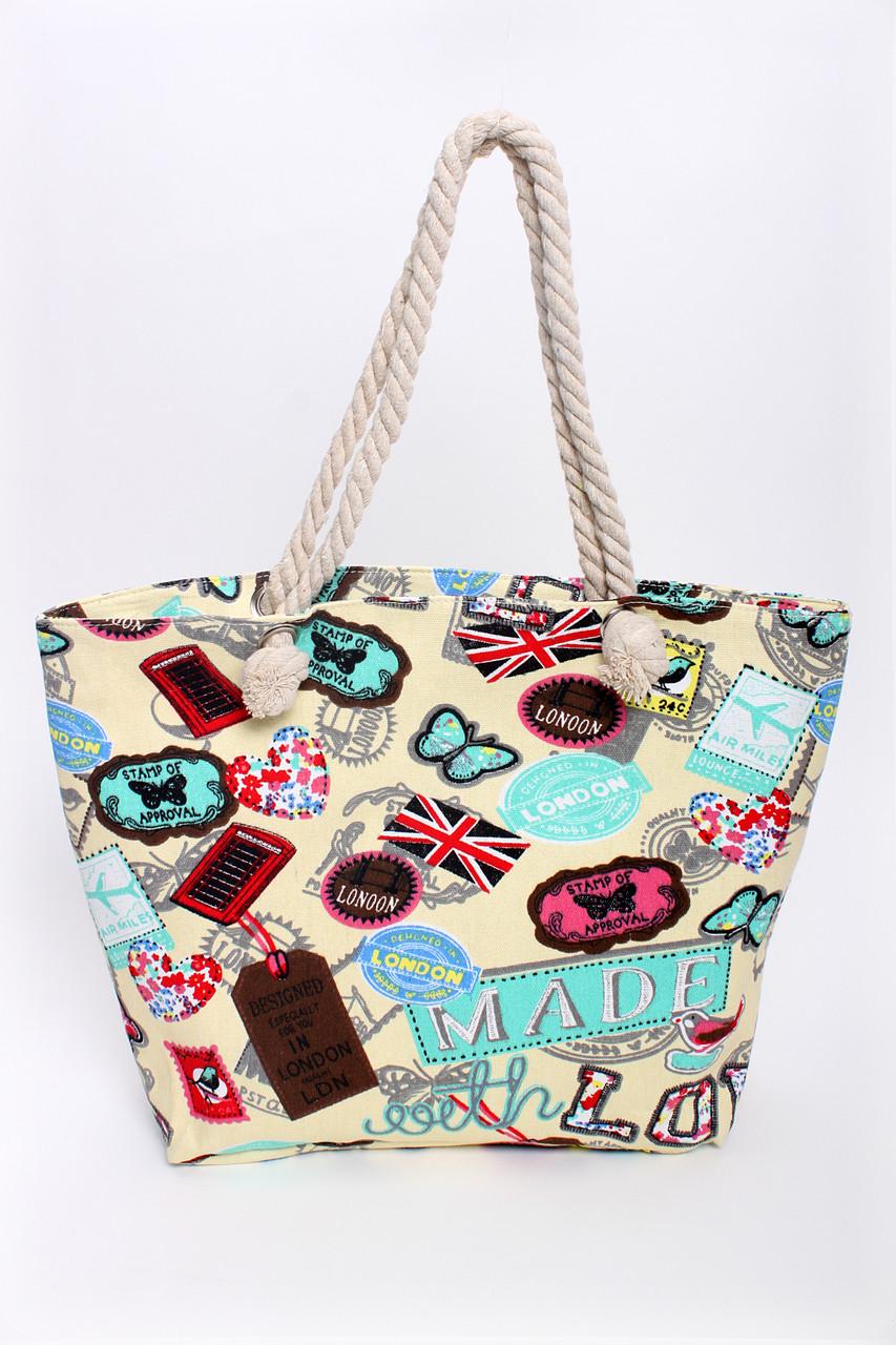 0922b4c65c0d Пляжная сумка Делф голубая - купить по низкой цене! женские сумочки ...