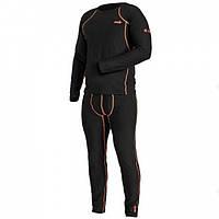 Термобелье мужское Norfin Thermo Line 2 черного цвета