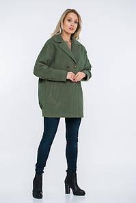 Пальто Lilove 48-501 42-44 хаки