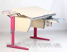 Стол СУТ.15 + Тумба навесная ТСН.01-01 + Полка задняя СУТ.15.210 (2 шт.) + Полка навесная СУТ.14, фото 2