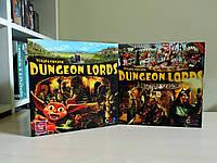 Лорды подземелий (dungeon lords) + дополнение, прокат и аренда настольных игр Киев