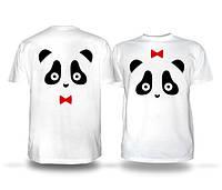 Парные футболки Панда, фото 1