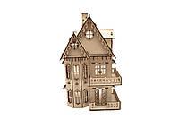 Конструктор из дерева Кукольный домик Kalinin арт 043