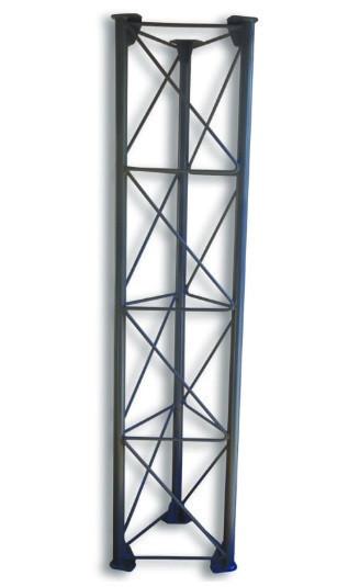 Опорная конструкция для дымохода PlusTerm «Home» облегченная (секция 2м. под внешний диаметр дымохода 360мм)