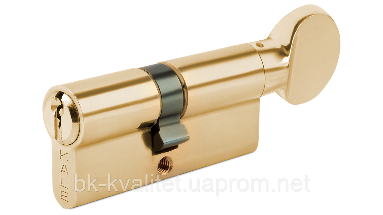 Цилиндр KALE 164 BM, BME 68 (31Тх37) тумблер на короткой стороне, Латунь, повышенной секретности