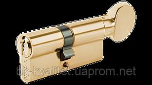Цилиндр KALE 164 BM, BME тумблер, латунь, повышенной секретности