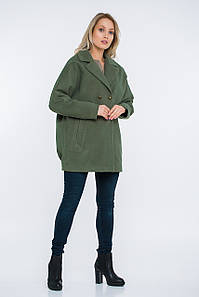 Пальто Lilove 48-501 44-46 хаки