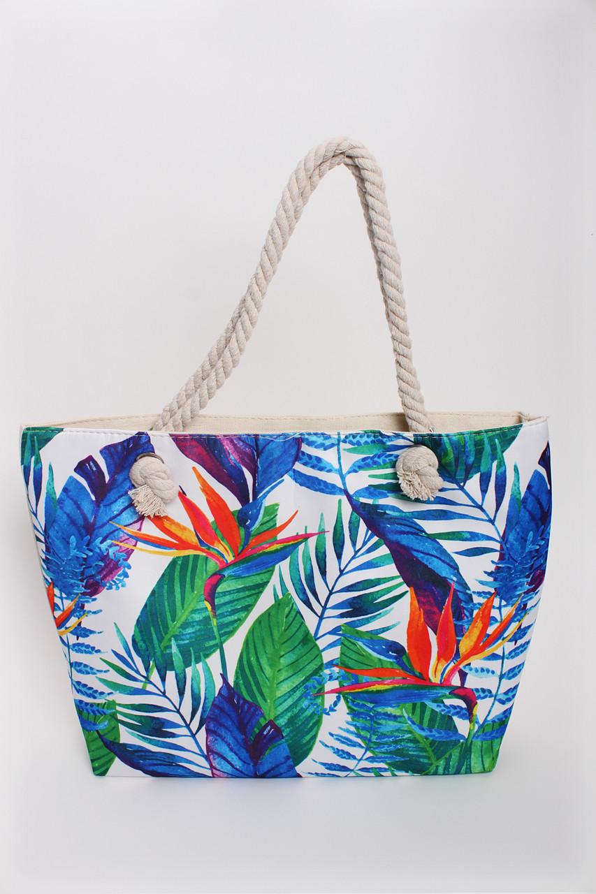 22970513f7ce Пляжная сумка Инсар синяя - купить по низкой цене! женские сумочки и ...