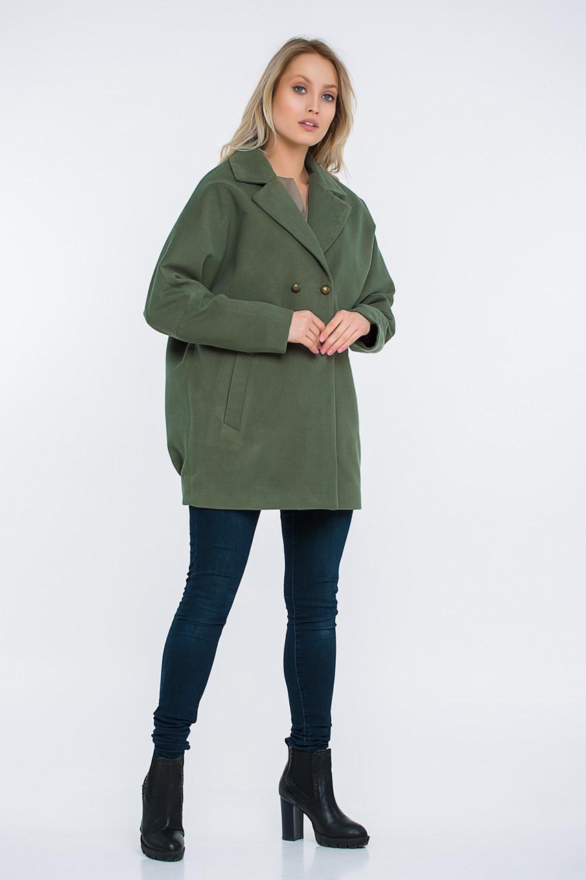 Пальто Lilove 48-501 46-48 хаки