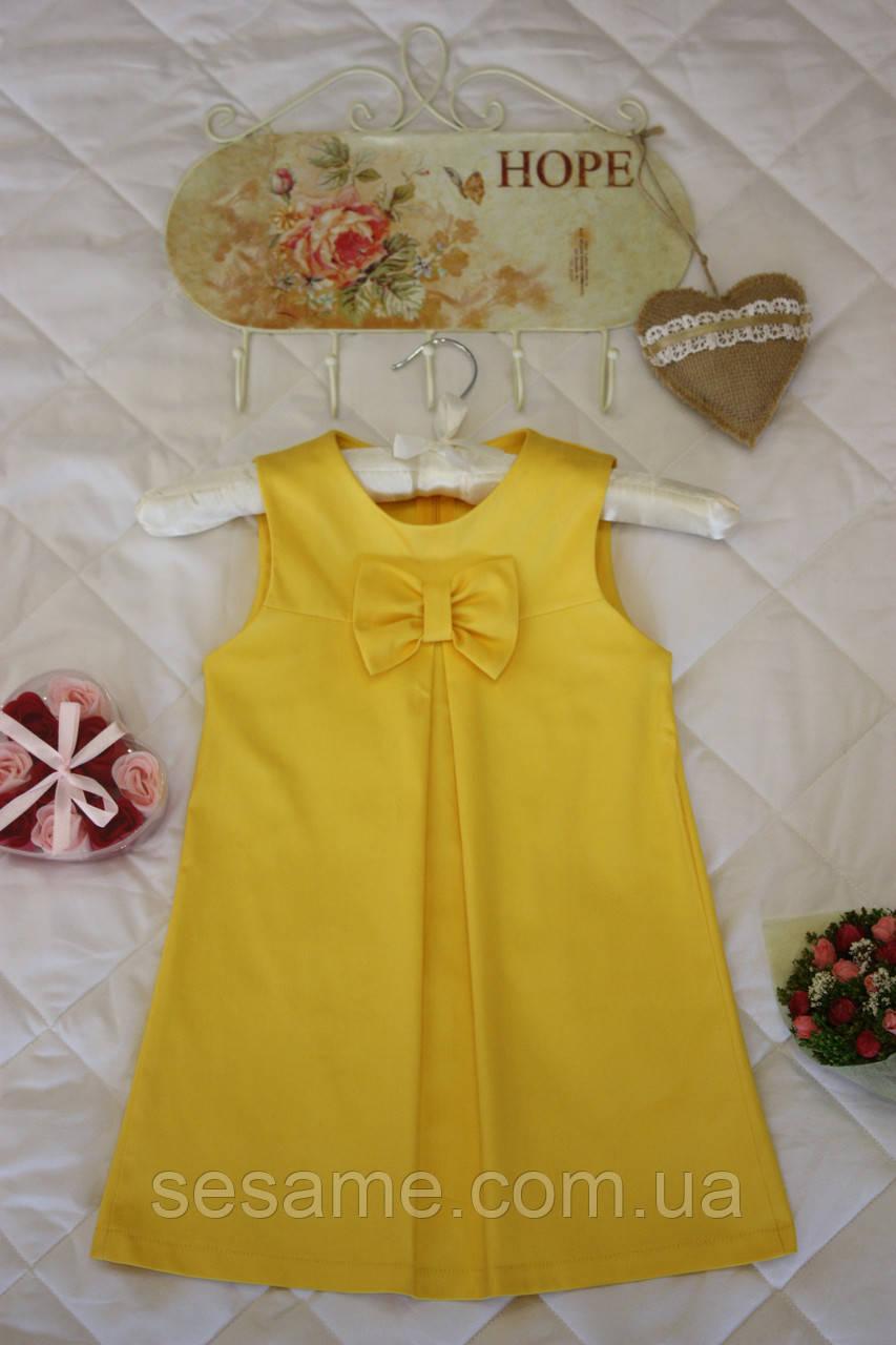 Платье детское Бант