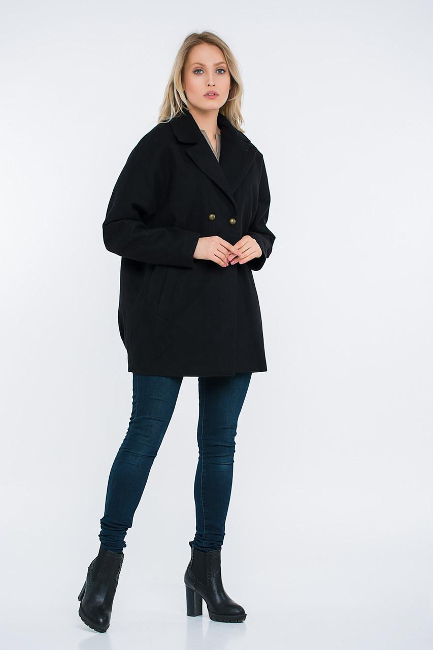 Пальто Lilove 48-501 44-46 черный